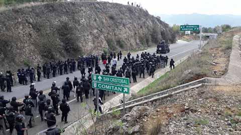 Gobierno Estatal Libera Tránsito en San Cristóbal de Las Casas