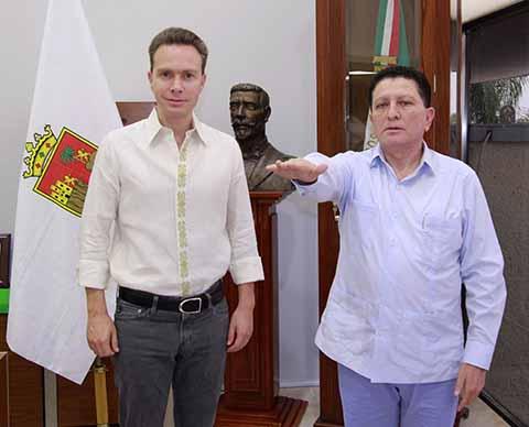 Gobernador Velasco Nombra a Mario Carlos Culebro