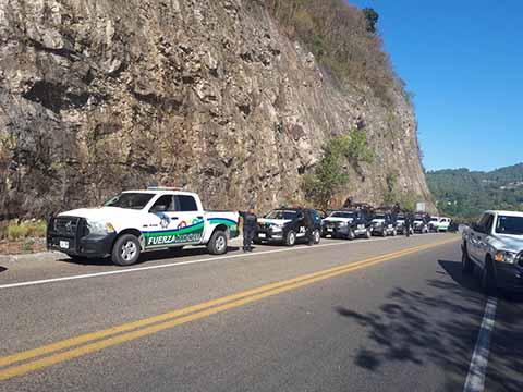 Gobierno de Chiapas Aplicó la Ley Ante Bloqueo Carretero