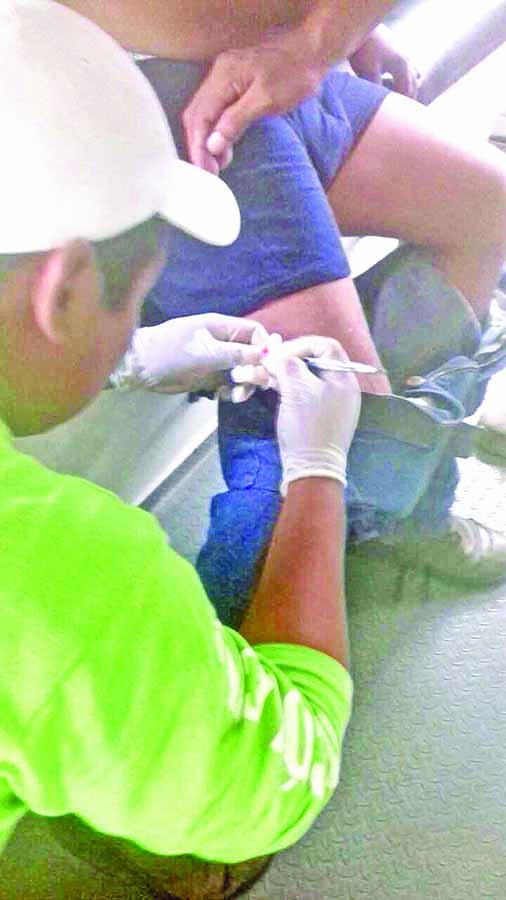 Herido a Balazos en Asalto Frustrado