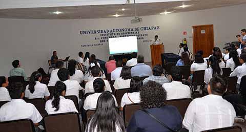 Alumnos de Preparatorias Participaron en el Concurso Biotecnologízate de la UNACH