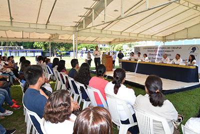Realizó Escuela de Lenguas Tapachula de la UNACH el Homecoming 2018
