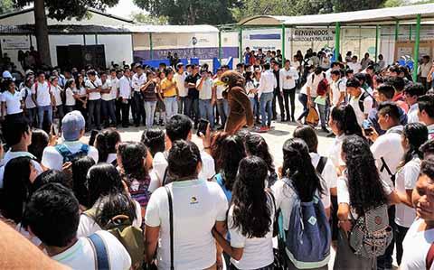 Tecnológicos de Chiapas Ofertaron sus Carreras en Tapachula