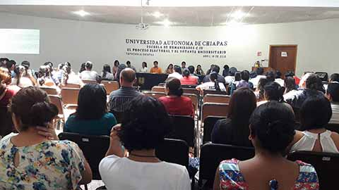 Foro Sobre la Participación de los Universitarios en el Proceso Electoral