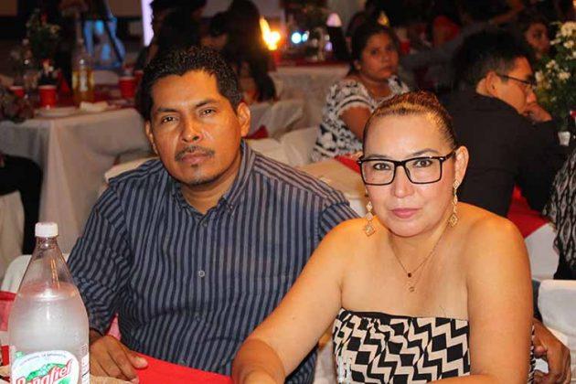 Efrain Chang, Dalila Trujillo.