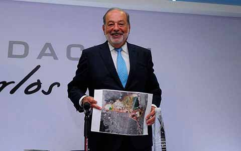 """Slim Defiende el Nuevo Aeropuerto; AMLO """"no Tendría por qué Meterse"""", Advierte"""