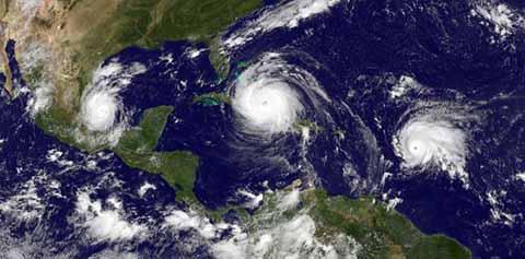 Se Esperan 15 Tormentas y Ocho Huracanes en el Pacífico