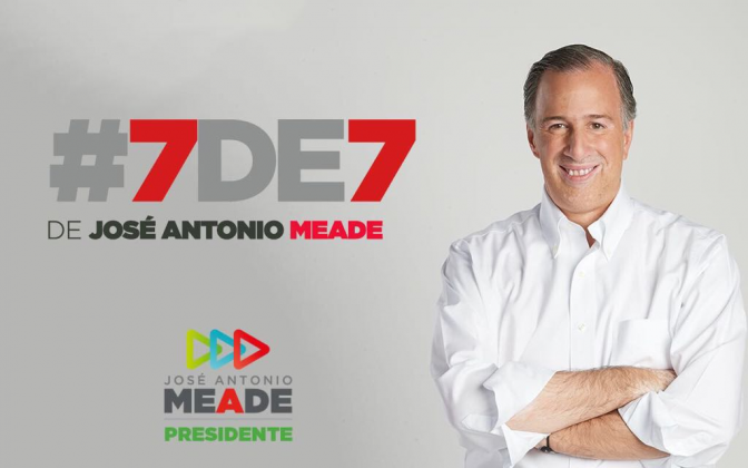 Presentación del Informe de Congruencia Patrimonial 7 de 7 de José Antonio Meade