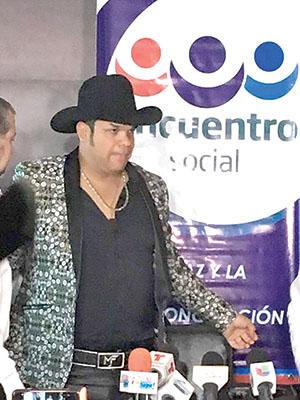 Busca Cantante Marco Flores Diputación por el PES