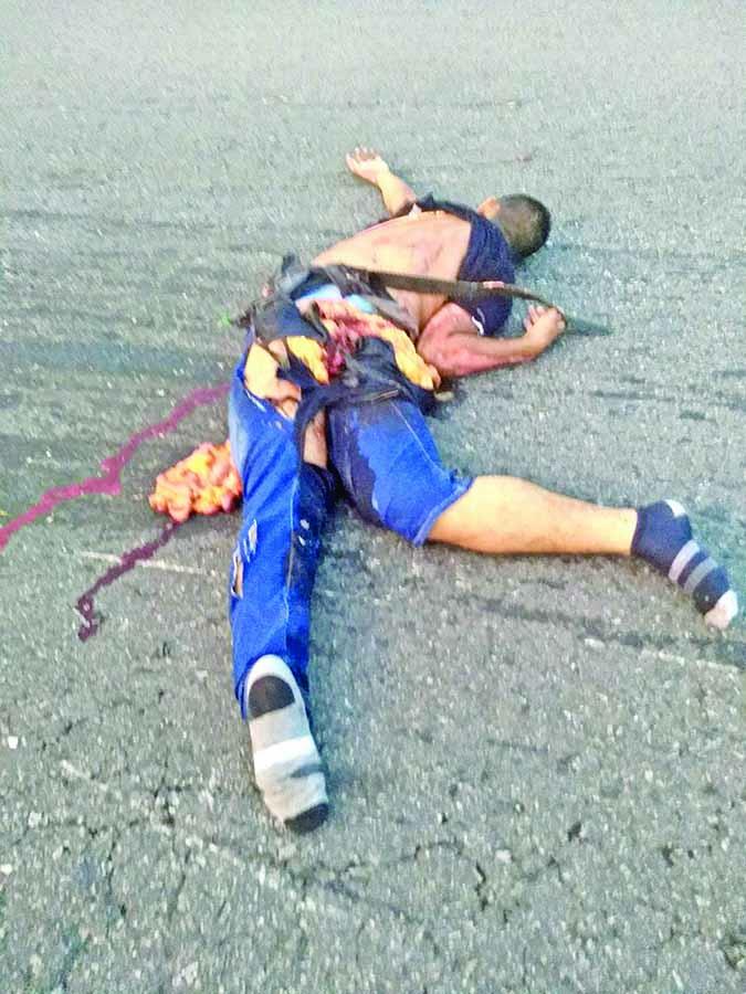 Muere Motociclista Arrollado