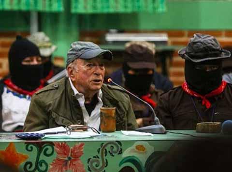 Nombran Comandante del EZLN a Exrector de la UNAM