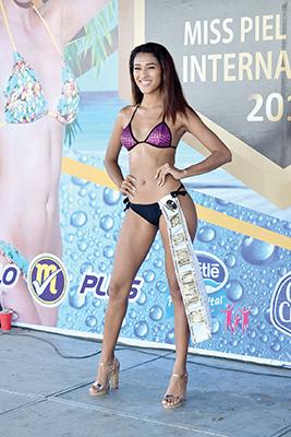 Karina Gaitán, Miss Piel Dorada 2017.
