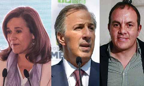 Zavala y Meade Solicitan Seguridad al Estado: INE