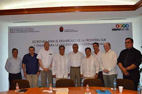 Guatemala y Gobierno de Chiapas Buscan Reforzar Relaciones Bilaterales