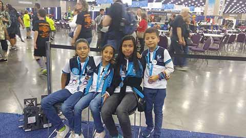 Escuela México, Sexto Lugar en el Mundial de Robótica