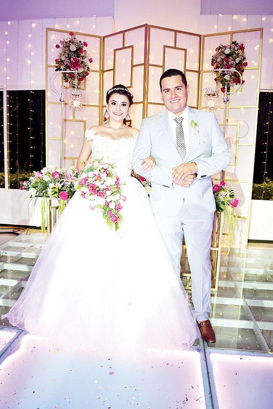 Samuel Siles & Zelmira García se Casaron