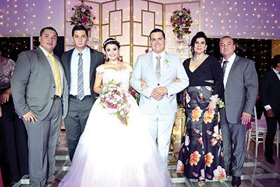Alfonso, Gustavo García, Zelmira, Samuel, Perla Gutiérrez, Gustavo García.