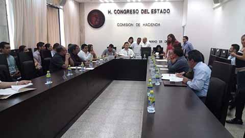 Congreso Aprueba por Unanimidad la Cuenta Pública Estatal 2017