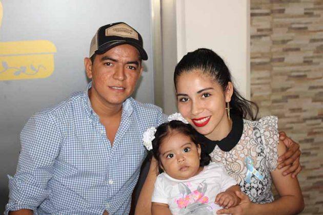 Noel Martínez, Daryana Michell, Ximena Martínez.