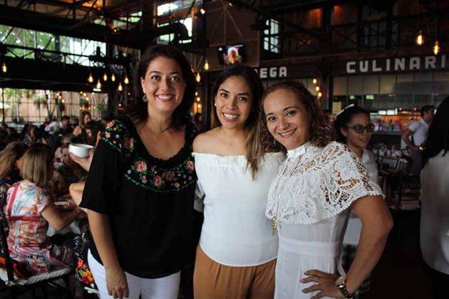 Fabiola Reyero, Isis de León, Sonia Guerra.