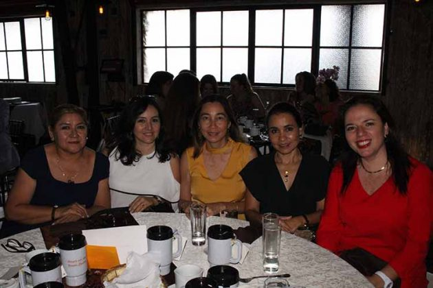 Mary Cortés, Rocío Alcaráz, Claudia Peñaloza, Ruth Aceves.
