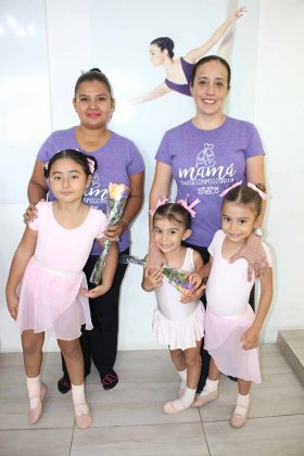 Laura Betanzos, Isis López, Regina, Fernanda, Gabi Martínez.