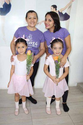 Vanessa Méndez, Victoria Vázquez, Alejandra, Grettel Reyes.
