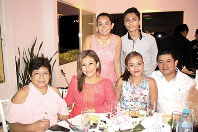 Familia Alfaro Robles.