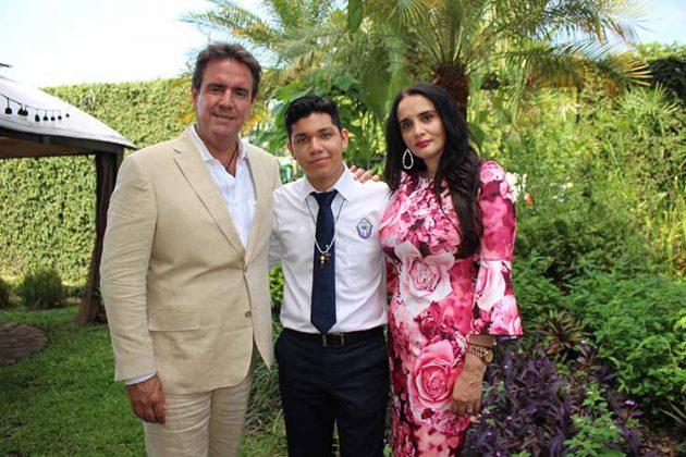 Luis Fernández, Alejandro Salazar, Dubraska Romedo.