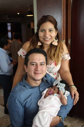 Didier, Adriana, Allison Molina.