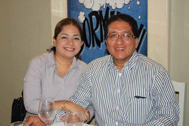 Janet Gómez, Juan Joo.
