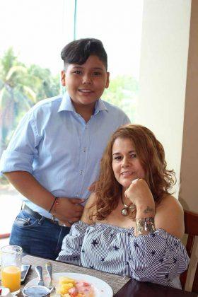 Agustín Morales, Sonia Martínez.