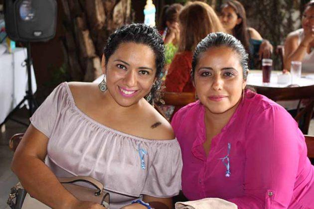 Elizabeth Gutiérrez, Katy Cruz.