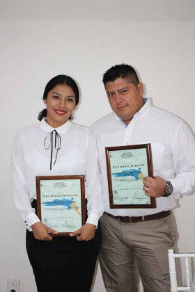 Paty Pineda, Gerardo Pinto.