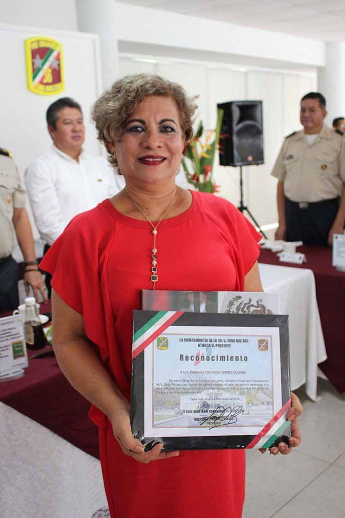 Rosaicela Torres.