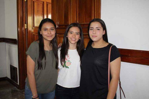 Adriana Sauza, Ani Vázquez, Ximena del Pino.