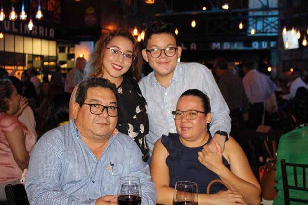 Familia Coutiño Meléndrez.