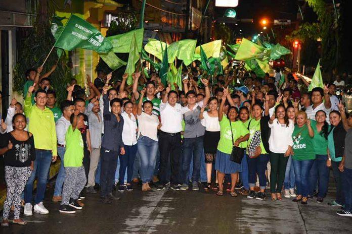 EZM Ratificado Candidato del PRI, PVEM, PANAL y Chiapas Unido