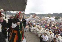 Fernando Castellanos Recibe Bastón de Mando en Chamula