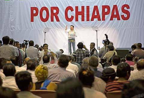 Asume Fernando Castellanos Cal y Mayor Candidatura Para Gobernador de Chiapas