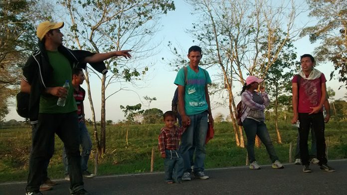 Aumenta Flujo de Migrantes Centroamericanos Hacia Territorio Nacional; Solicitan Refugio