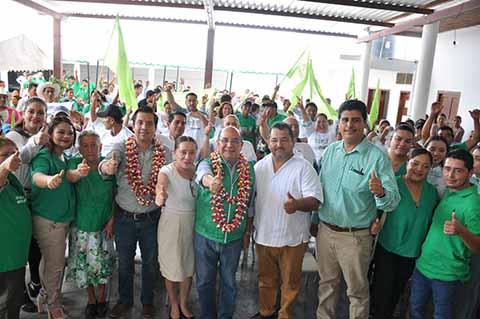 Socoltenango va con Gómez Aranda
