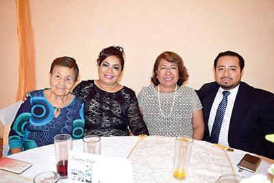 Estela García, Blanca Gutiérrez, Catalina Soriano, Sergio Soriano.