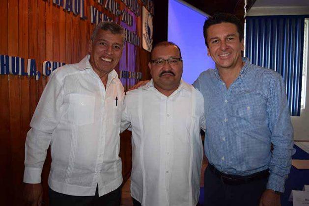 Carlos Cossio, Raúl Ventura, Pepe Toriello.