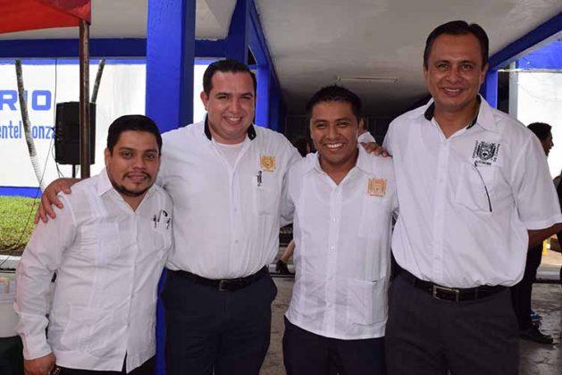 Erwin Bermúdez, Christian Castillo, Jesús Zacarías, Felipe Villarreal.