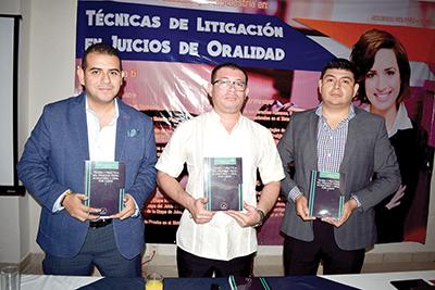 Jorge González, Rodrigo Castellanos, Benjamín Jiménez.