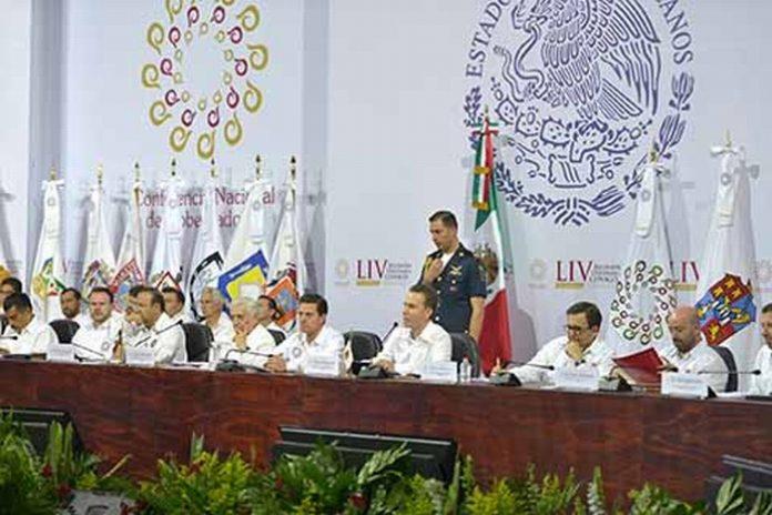 Ante el presidente de México Enrique Peña Nieto, el gobernador de Chiapas Manuel Velasco Coello, fue nombrado Presidente de la Conferencia Nacional de Gobernadores (CONAGO), para encabezar los trabajos de este órgano colegiado.