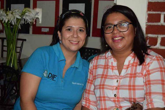 Giaydi Gutiérrez, Karla González.
