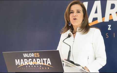 Margarita Zavala llegará en gira de trabajo a la frontera sur