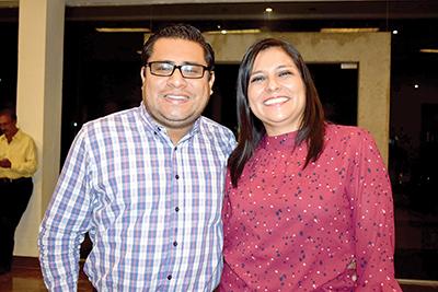 Pablo García, Patricia Torres.